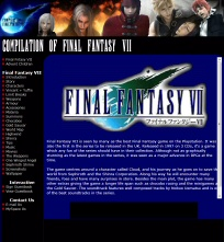 Screenshot of FFVII Compilation